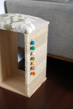TUTORIAL: DIY MODERN CAT SCRATCHER + IKEA HACK